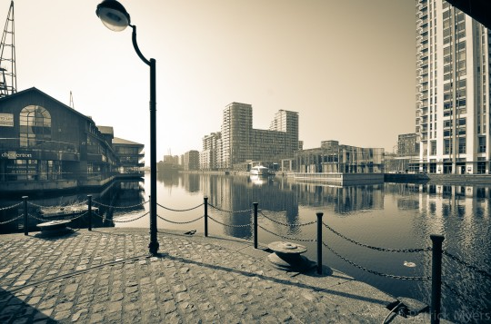 View of Heron Quay
